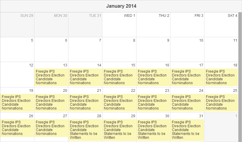 Freegle IPS Directors 2014 Elections - January Calendar.png