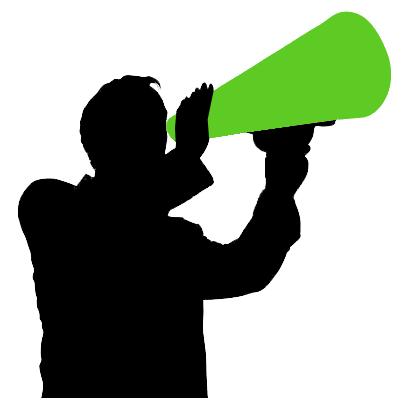 File:Megaphone-man.png - Freegle Wiki